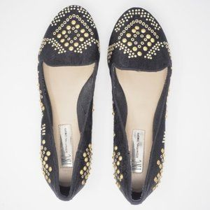INC International Concepts Loafers Studded 7.5
